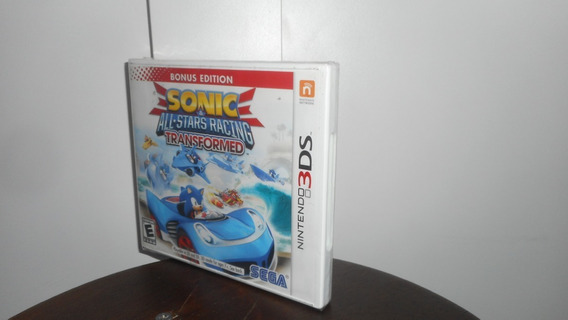 Sonic All Star Racing Transformed Nintendo 3ds Física Novo