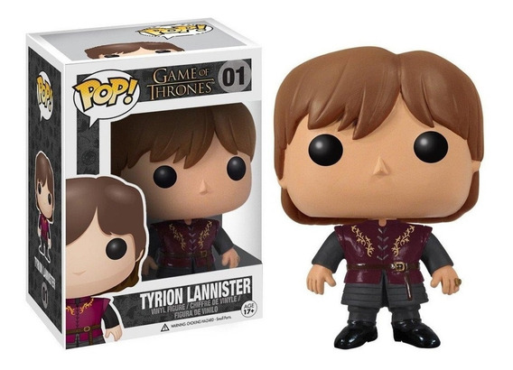 Figura Funko Pop Games Of Thrones - Tyrion Lannister 01.