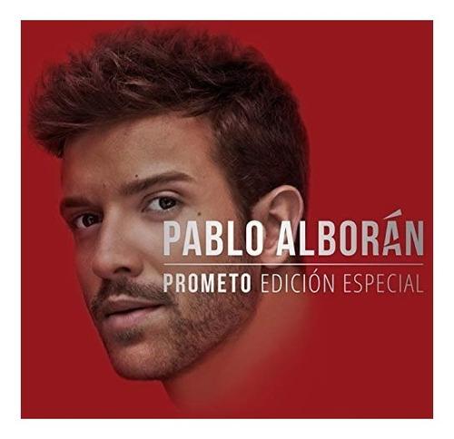 Cd Pablo Alborán Prometo Edicion Especial With Dvd Mercado Libre