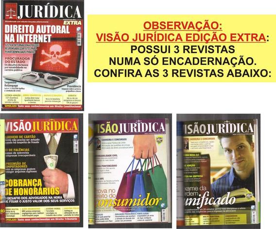 Visão Jurídica Edição Extra - 3 Revistas Em 1 Encad + Brinde