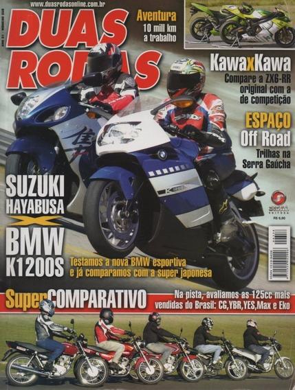 Duas Rodas N°358 Suzuki Hayabusa Bmw K1200s Zx6-rr Cg Ybr