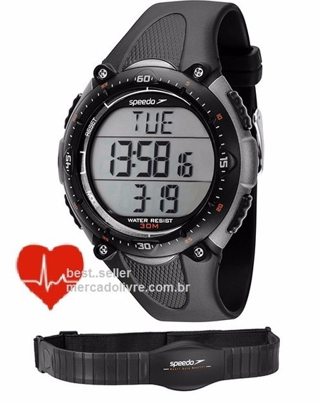 Relógio Monitor Cardíaco Speedo 80565g0epnp2 Frequência