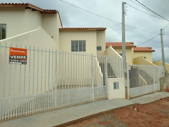 Casa Com 2 Dormitórios À Venda, 67 M² Por R$ 185.000 - Chácaras Reunidas Nova - Santa Branca/sp - Ca0797