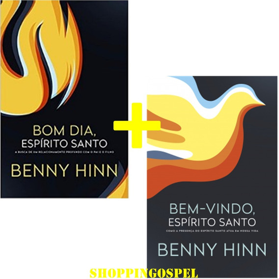 Kit Bom Dia Espírito Santo + Bem Vindo Espírito Santo Livro