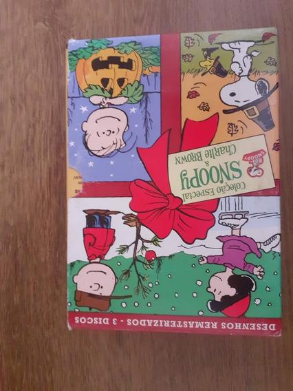Coleção Especial Snoopy E Charlie Brown Em Dvd