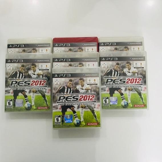 Jogo Pro Evolution Soccer 2012 Pes 12 Ps3 Mídia Física