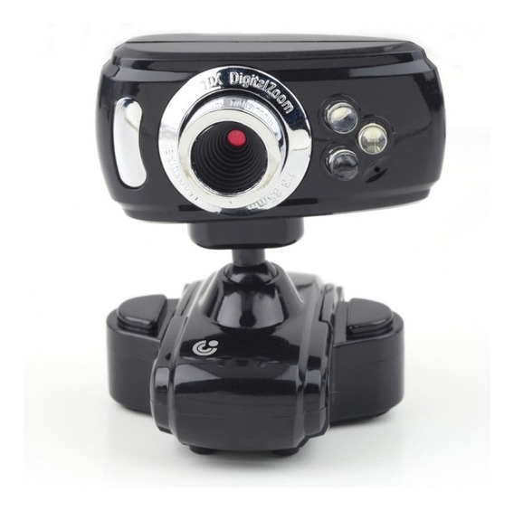 Camara Web 2mp Imexx Con Microfono Y Flash Webcam