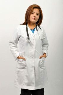 Bata Médica Dama Talla 26-38