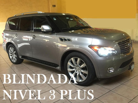 Infiniti Qx56 V8 4x4 Blindaje Nivel 3plus