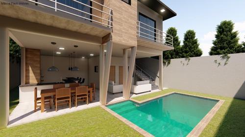 Imagem 1 de 12 de Casa Em Fase Final De Construção No Condomínio Gran Ville - Itupeva. - Ca04210 - 69557440