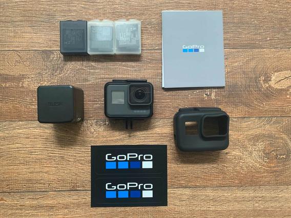 Gopro Hero 6 Black + Acessórios
