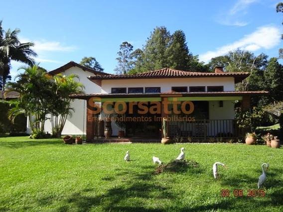 Casa Residencial Para Venda E Locação, Chácara Recanto Bela Vista, Itapecerica Da Serra - Ca0616. - Ca0616