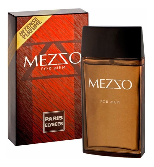 Perfume Mezzo Paris Elysees Edt 100 Ml Perfumes Masculino
