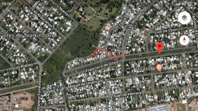 Terreno En Barrio Las Torres, No Es Asentamientos .