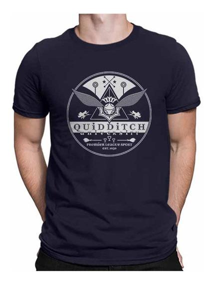 Camisetas Harry Potter Quadribol Quidditch Hogwarts