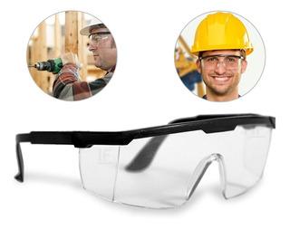 Óculos De Proteção Incolor Anti-risco