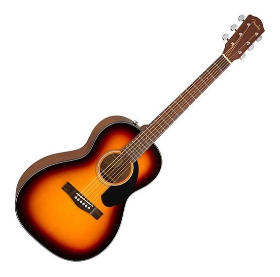 Violão Fender Parlor Cp-60s Sunburst Acustico 097 0120 032