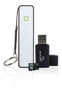 Kit Smartphone: Power Bank+pendrive+cartao De Memoria Cl4 8g