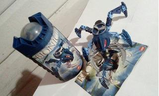 Bionicle Visorak Boggarak (todo Completo En Buen Estado)