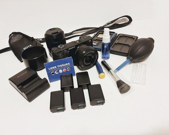 Kit Sony A6300 Mirrorless + Crane