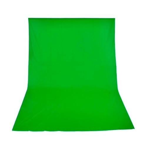 Fundo Infinito Verde Algodão Muslin 3m X 5m Chroma Key