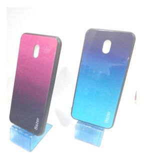 Forro Rigido Tapa Cristal Degradado Xiaomi Redmi 8a