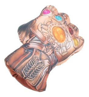 Guante Thanos Avengers Soft 23x17 Unid Divino!