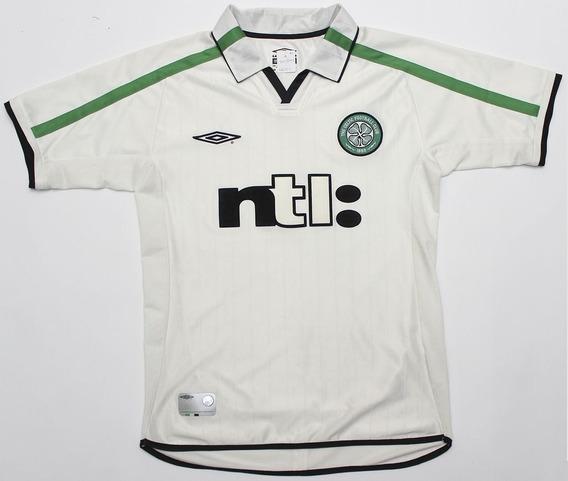 Celtic Escócia Camisa Original Importada Umbro Ano 2001