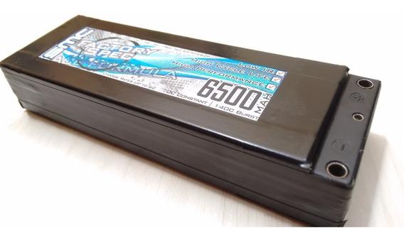 Bateria De Lipo Smc 2s 7.4v 6500 Mah 70c 140c Plug Trx