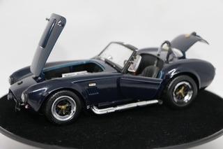 Miniatura Shelby Cobra 427 S/c Azul Escuro Roas Tough 1/18