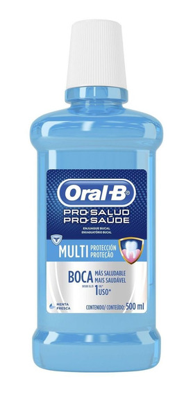 Antisséptico Bucal Oral B Pro Saude 500ml