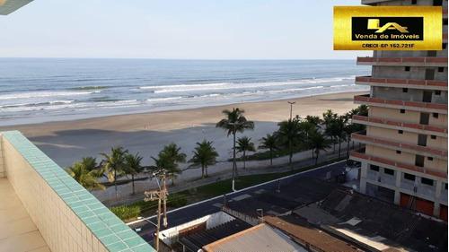 Residencial Frente Mar E Apartamento Com Linda Vista Mar E Praia - 1109