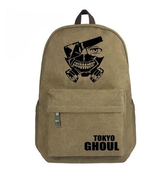 Mochila Escolar Nylon Anime Tokyo Ghoul Kaneki Ken En Oferta