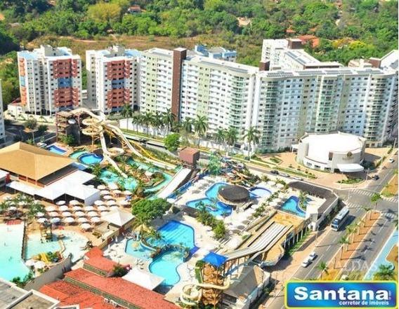 01730 - Apartamento 2 Dorms. (1 Suíte), Turista I - Caldas Novas/go - 1730