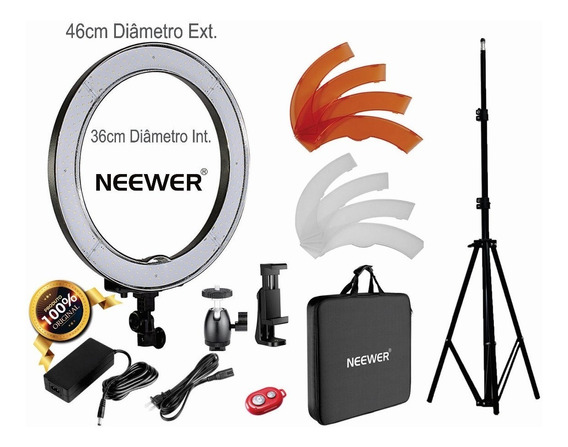 Ring Light Neewer Rl18 Original + Tripé