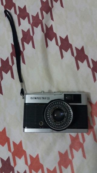 Linda Máquina Fotográfica Analógica Olympus Trip 35