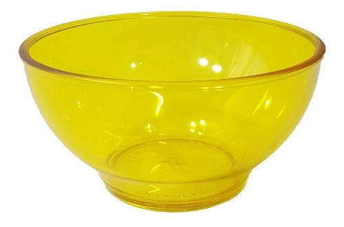 Bowl Acrilico Amarillo 15 Cm, Degaplast - Bazar Colucci