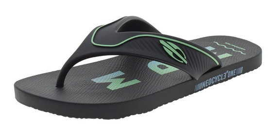 Chinelo Masculino Neocycle One Ad Mormaii - 11346 Preto/verd