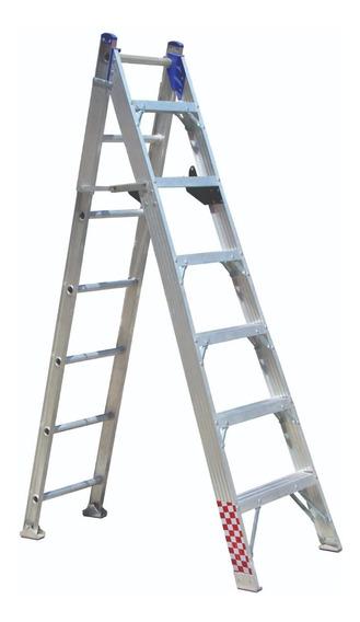 Escalera Convertible Doble 13 Peldaños 4.21m T. I I