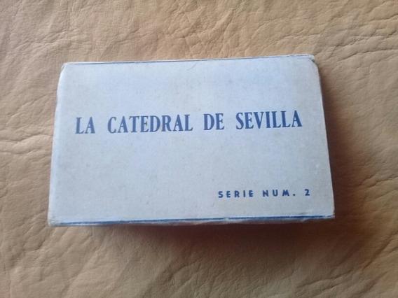 Tarjeta Postal - Minilibro La Catedral De Sevilla - España