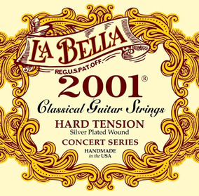 Encordoamento Violão La Bella 2001 Classical Hard #