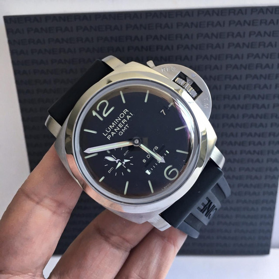 Panerai Luminor 1950 8 Days Gmt 44mm 2019 8 Anos De Garantia
