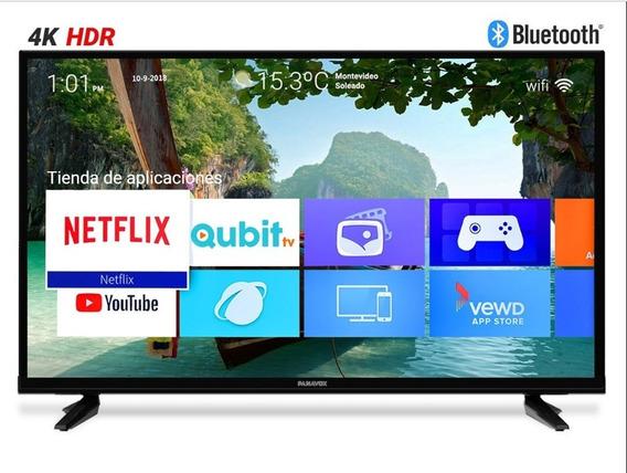 Smart Tv Panavox 43 Pulgadas Uhd Envío A Todo El País