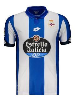 Camisa Lotto Deportivo La Coruña Home 2017