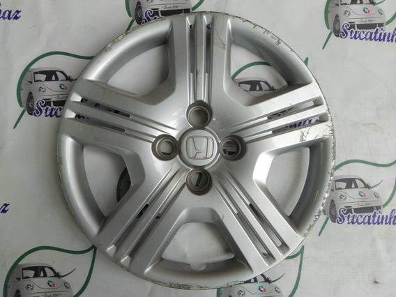 Calota Da Roda Original Para Honda New Fit 2009 A 2014