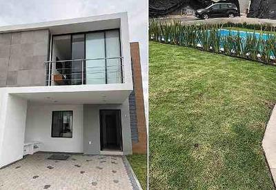 Preciosa Casa En El Refugio, 3 Recámaras, Vestidor, 2.5 Baños, Estudio, Alberca