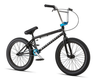Bicicleta Bmx We The People Crysis ¡full Cromo! Negra Pro