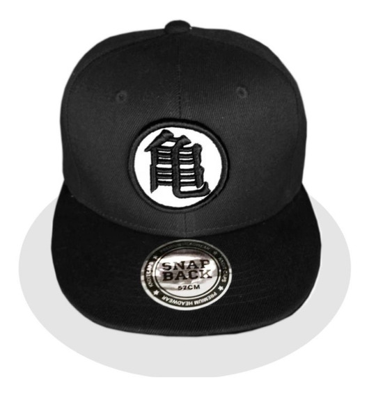Dbz Gorra Goku Black Dragon Ball Super Logo Bordado Negro
