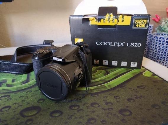Camera Usada Nikon Coolpix L820