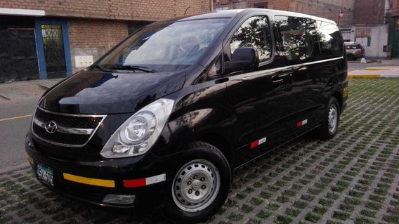 Hyundai Minivan H1 Motor 2400 Color Negro 5 Puertas
